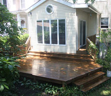 Edgewater Glen Backyard Deck